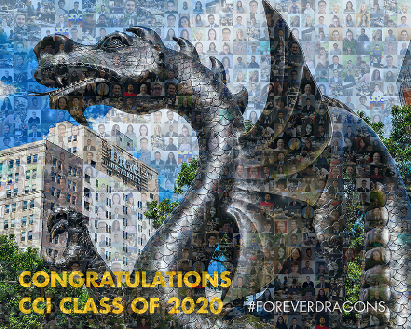 Drexel's College of Computing & Informatics celebrated its graduating Dragons in a virtual commencement celebration on June 10.