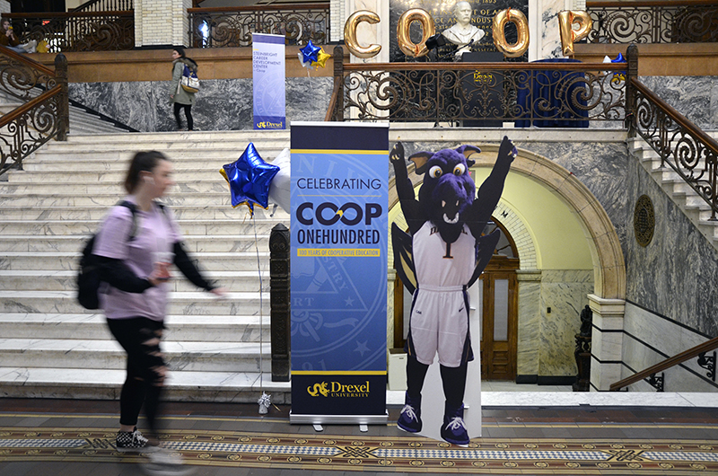 As part of its celebration of the 100th anniversary of its cooperative education program this academic year, Drexel University hosted the inaugural University-wide Co-op Send-off celebration.