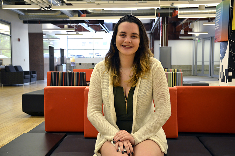 While it was her second year at Drexel, Kristen Furlong was in the freshman class of the Westphal College of Media Arts & Design's Game Design & Production program. Now, Kristen is changed her major to business.