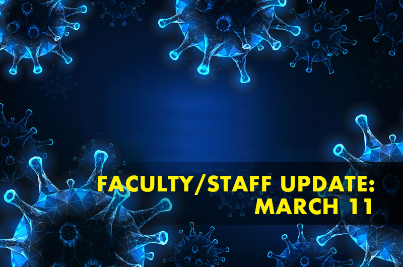 faculty staff coronavirus update