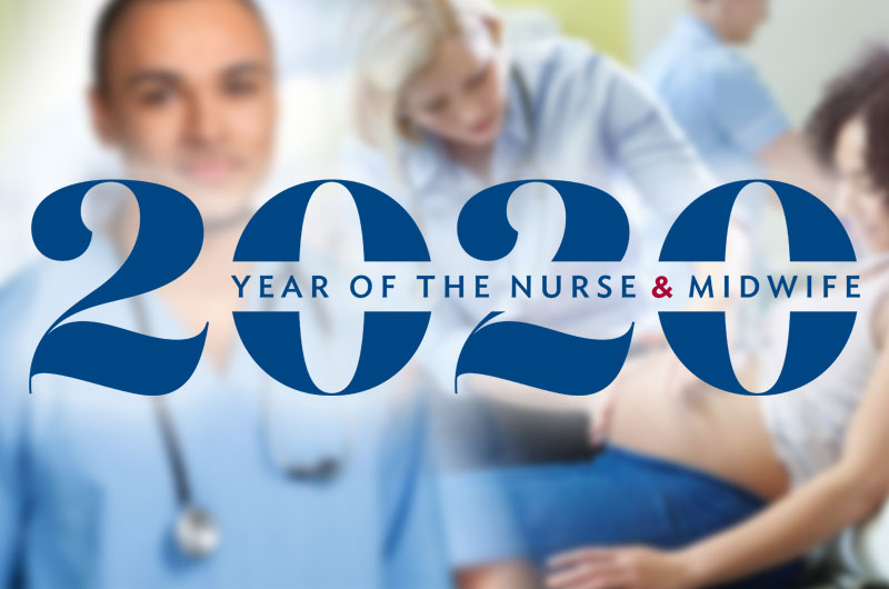 2002 Year of the Nurse & Midwife.