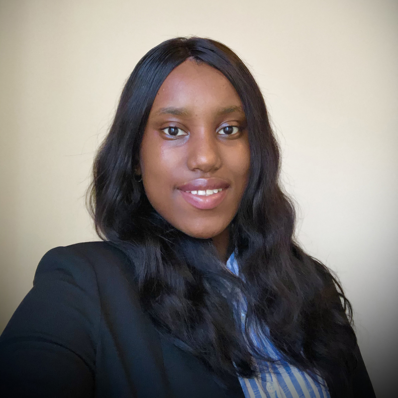 Salamata Bah, a second-year computer science major involved with Drexel-LSAMP.