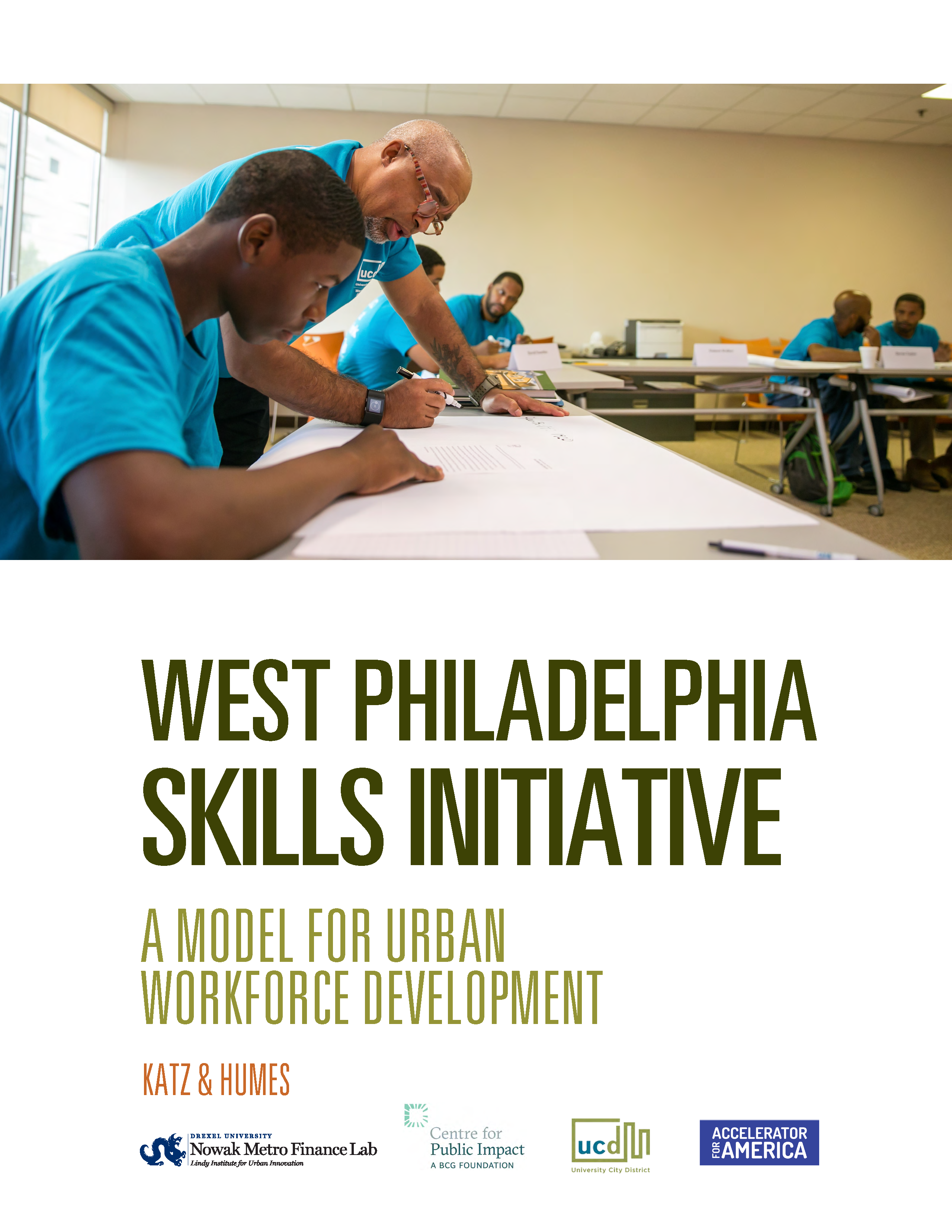 Cover of West Philadelphia Skills Initiative Report from the Nowak Lab
