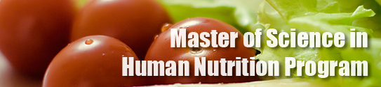 Master of Science in Human Nutrition Program