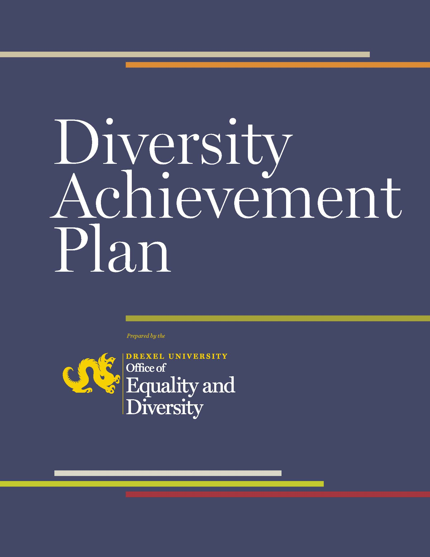 Image of Diversity Achievement Plan Cover