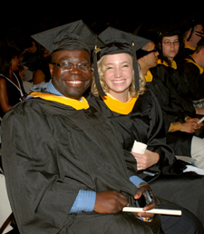 Pair at Graduation