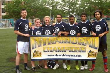 Intramural Soccer Champs 2008