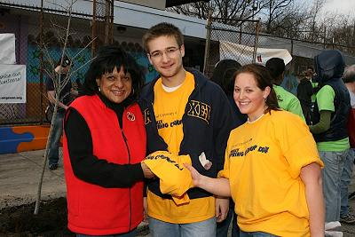 Councilwoman Blackwell with Drexel students