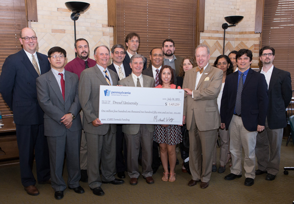 Pa. Department of Health Recognizes Drexel Research with CURE Grant