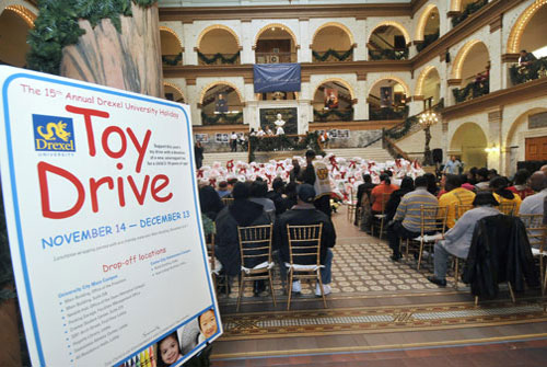 Drexel Annual Toy Drive
