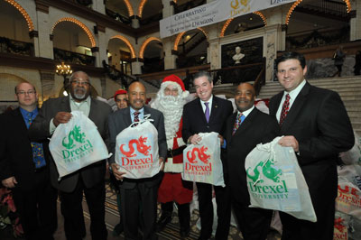 Drexel's 2012 Annual Toy Drive