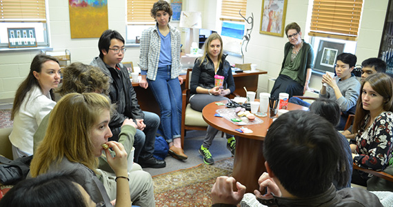 Dean Cohen hosts monthly Dean's Teas to brew intellectual conversation