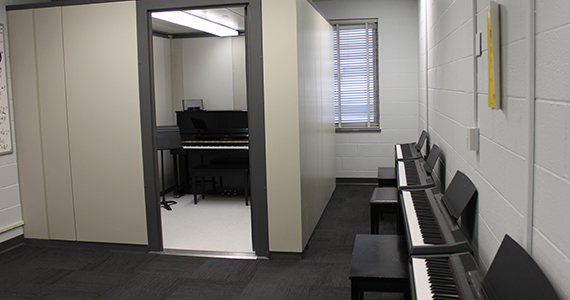 Practice Space And Wenger Modules Performing Arts Drexel