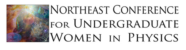 Northeast Conference for Undergraduate Women in Physics logo