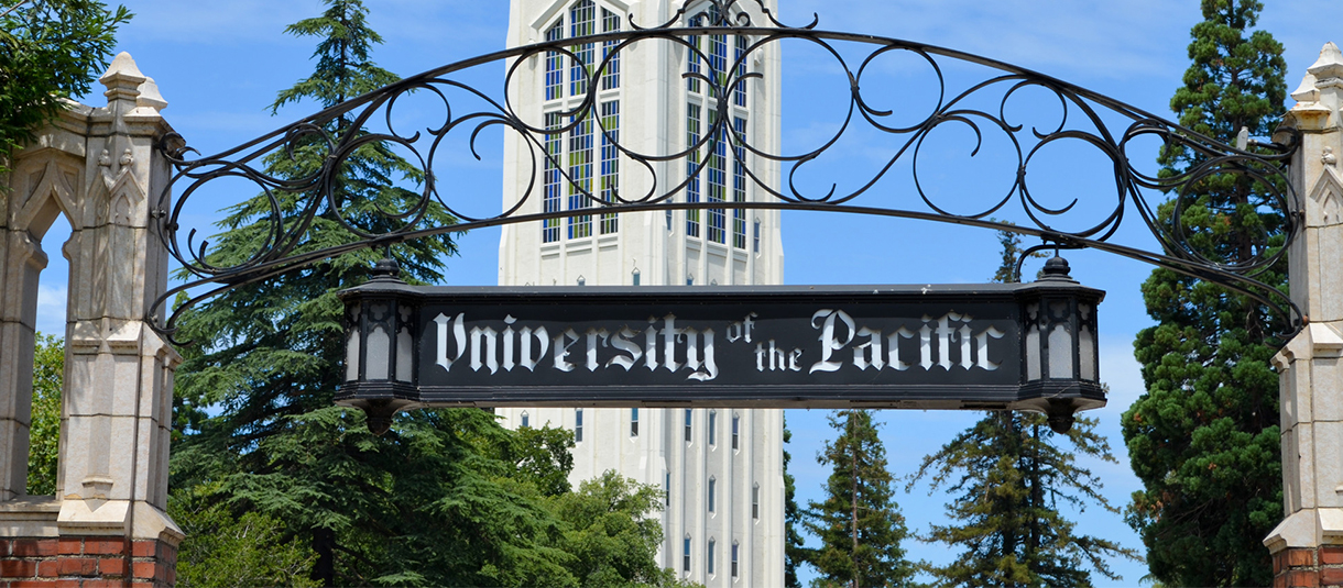 Front Gates of University of Pacific