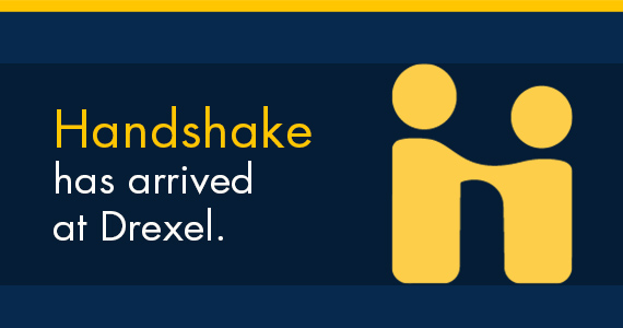 Handshake has arrived at Drexel