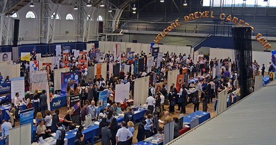 Fall and Spring Career Fairs at Drexel
