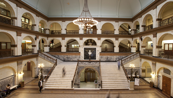 Drexel University's Main Building Grand Hall