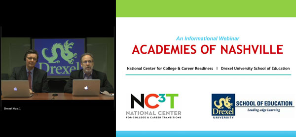 Academies of Nashville NC3T and Drexel School of Education