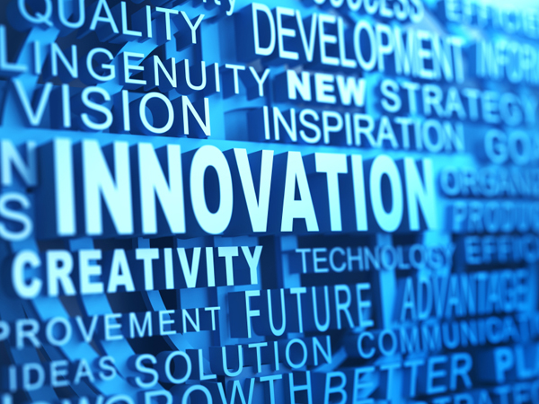 "Word ""Innovation"" graphic"