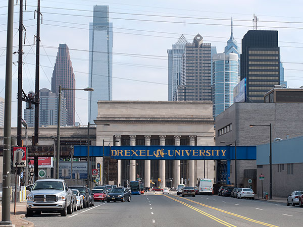 Drexel University's campus in Philadelphia