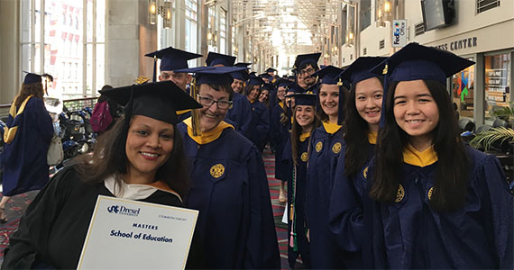 Drexel University School of Education graduates