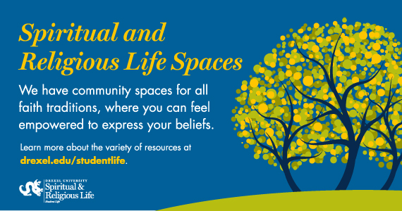 Spiritual and Religious Life Spaces Graphic
