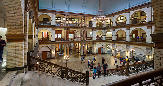Main Building - Great Court