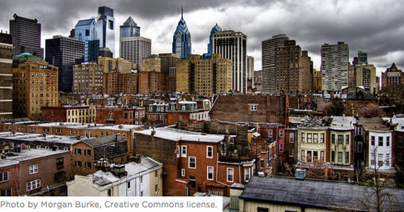 Photo of Philly by Morgan Burke