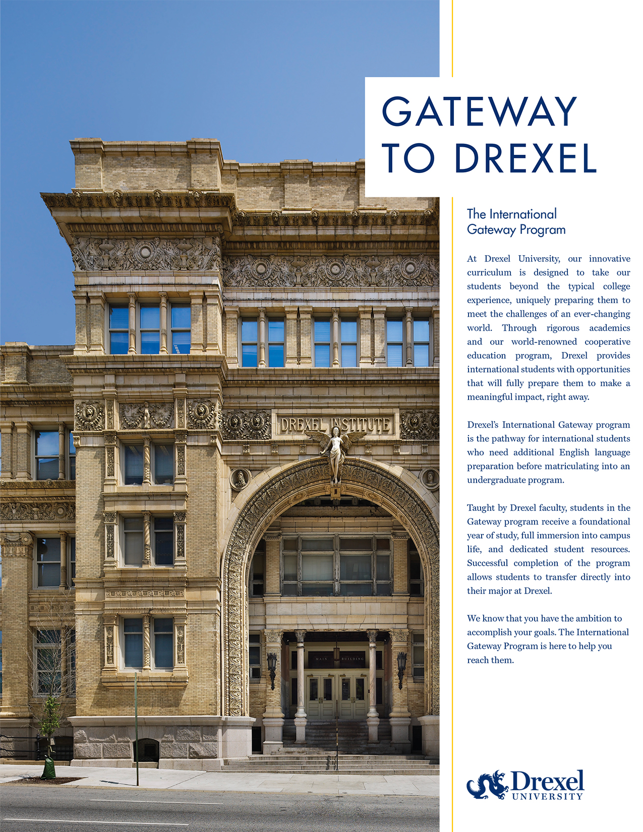 Gateway to Drexel - The International Gateway Program