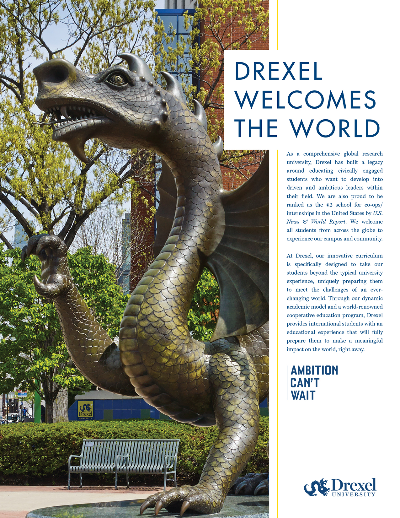 Drexel Welcomes the World - International Brochure