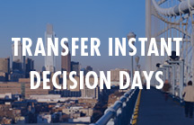 Transfer Instant Decision Days