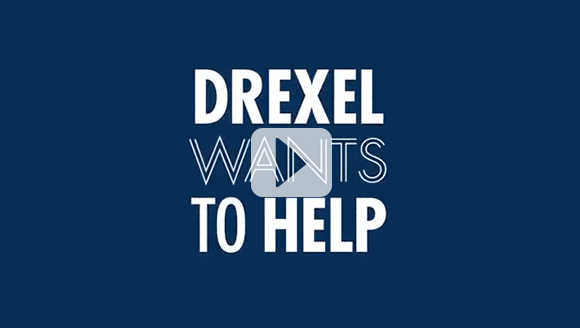 Play our video, Investing in a Drexel Education.