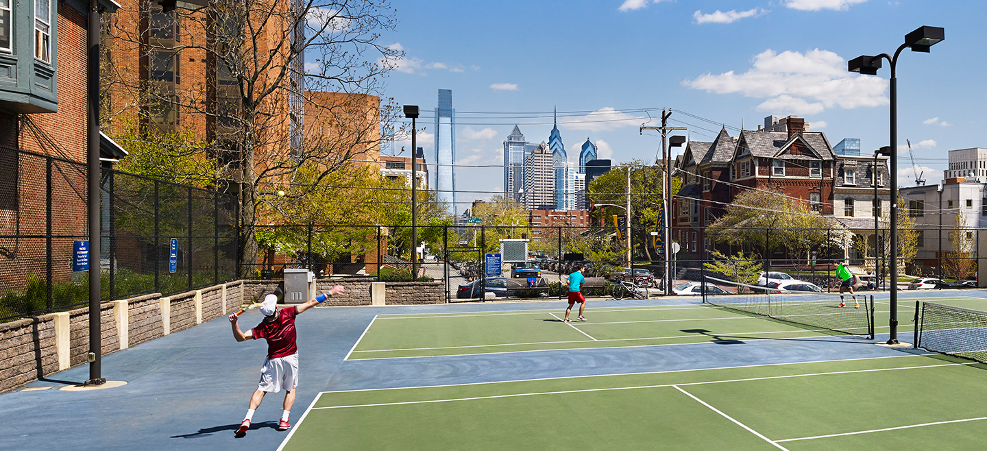 Drexel Tennis Courts