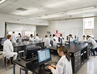 Papadakis Integrated Sciences Building Teaching Lab