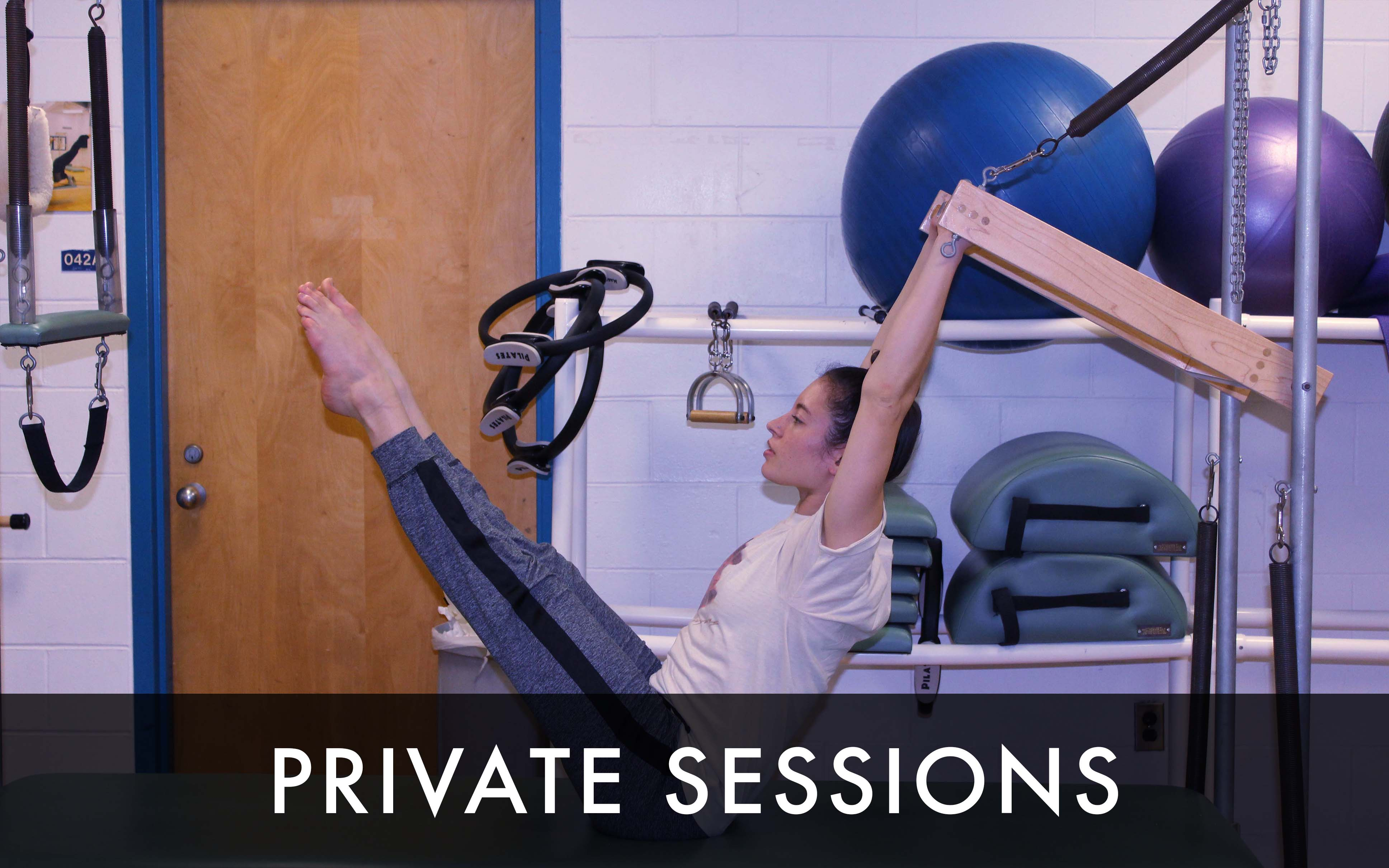 Pilates Private Sessions