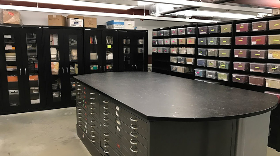 Photo of Materials Library