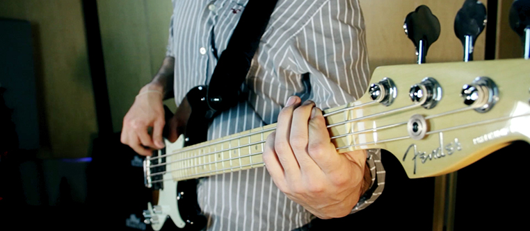 Music Industry Bass Player