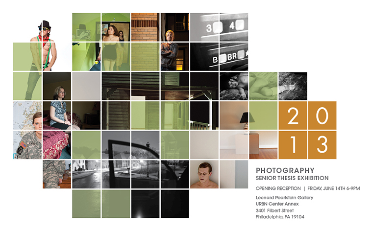 Photography Senior Thesis Exhibition 2013