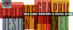 High School Workshops in Graphic Design