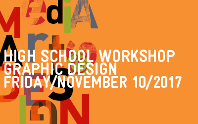 Graphic design high school workshop november 10 2017
