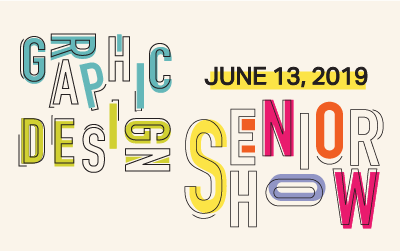 2019 Drexel Graphic Design Senior Show