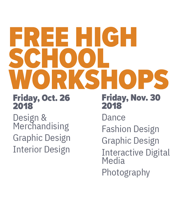 Free High School Workshops 2018