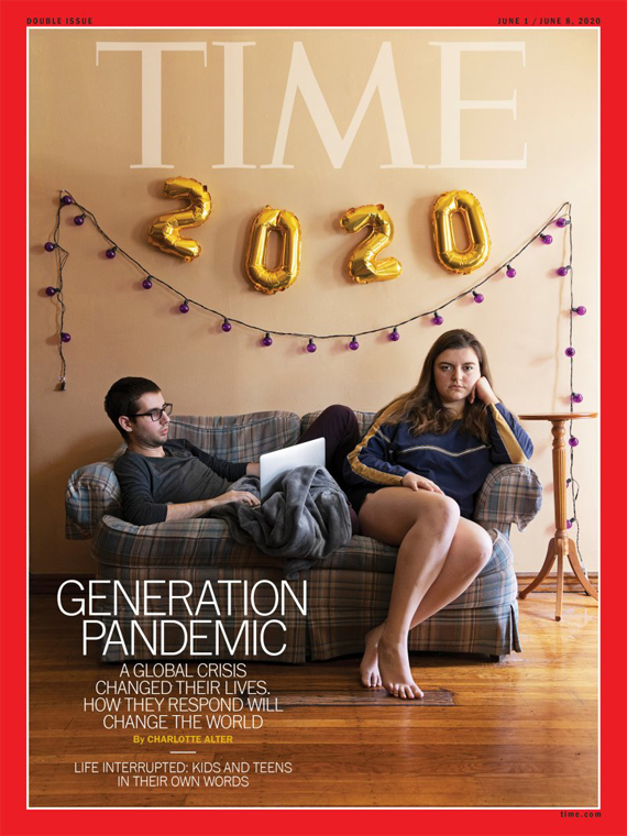 TIME Magazine Generation Pandemic Issue cover
