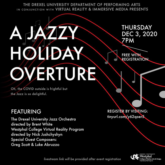 A Jazzy Holiday Overture Graphic