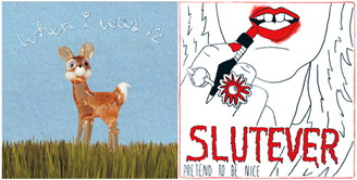 album covers for when I was 12 and slutever