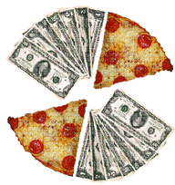 Pizza and Money
