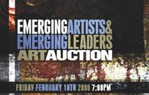 Emerging Artists & Emerging Leaders Art Auction