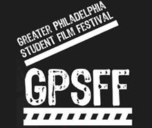 GPSFF white logo on black background