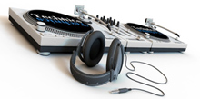 Image of DJ equipment